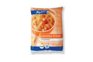 markant voorgebakken patates frites