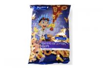 markant cijfers en letters chips