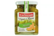 carbonell tapas olijven meloen