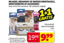 brandus broadway of impress kunstnagels kunstwimpers of accessoires