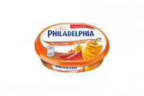philadelphia zuivelspread gegrilde paprika