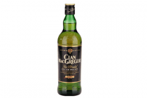 clan macgregor fine blended scotch whisky