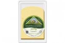 plakjes jonge kaas