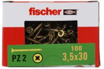 fischer spaanplaatschroeven 3.5x30 mm