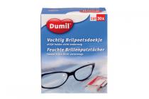 vochtige brilpoetsdoekjes