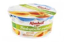 almhof biologische yoghurt perzik abrikoos