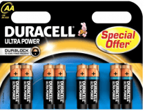 duracell ultra power aa