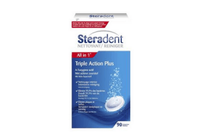 steradent active plus all in 1 reinigingstabletten