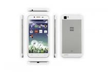 hema smartphone h5 wit met zilver