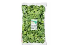 gewassen spinazie