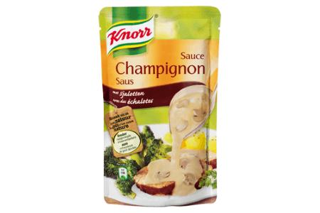 knorr champignon saus