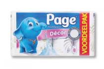 page keukenpapier decor