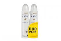 dove invisible dry anti transipirant deodrant spray multipack