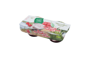 boeren roomyoghurt met kers