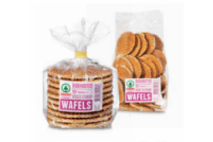 roomboter reuze of mini stroopwafel