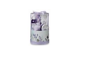 lavendel luxe hoedendoos geschenkset
