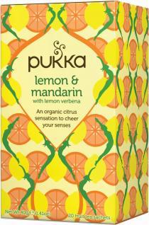 pukka lemon  mandarin