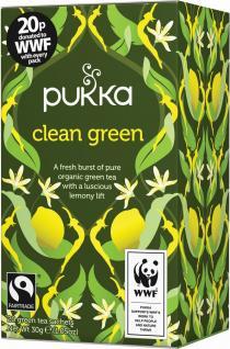 pukka clean green tea