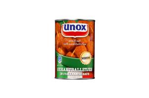 unox gehaktballetjes in italiaanse saus