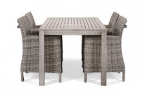 hartman tuinset patio met fauteuils java 5 delig