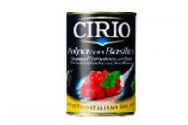 cirio polpa tomatenblokjes basilicum