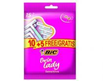 bic twin lady pouch wegwerpscheermesjes