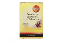 roter cranberry vitamine c en echinacea