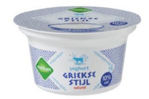 melkan yoghurt griekse stijl 10 vet