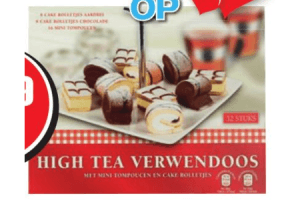 high tea verwendoos