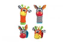 playgro wrist rattle set