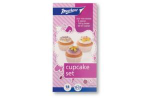markant cupcakeset