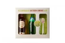 southern comfort kadoverpakking met whiskylikeur 35 cl sprite en glas