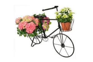 metalen decoratie fiets