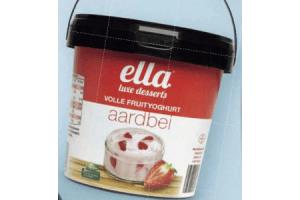 volle fruityoghurt aardbei