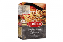 bertolli pastaschelpen bolognese