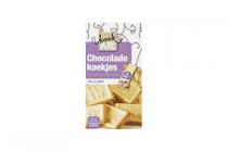 chocolade koekjes wit