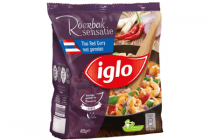 iglo thai red curry met garnalen