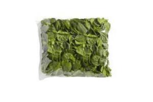 ongewassen spinazie