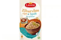 lassie zilvervliesrijst plus spelt en quinoa