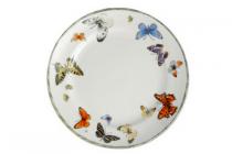janneke brinkman fruit  flower serie vlinder ontbijtbord