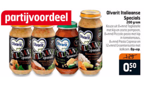 olvarit italiaanse specials 200 gram