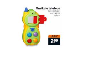 muzikale telefoon