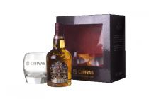 chivas regal kadoverpakking met glas