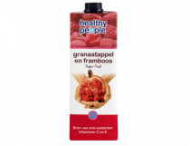 healthy people granaatappel en framboos