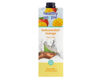 healthy people kokoswater mango
