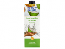 healthy people kokoswater ananas