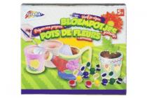 beschilder je bloempotten