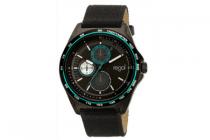 regal horloge zwart