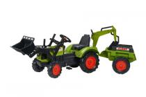 falk claas tractor set deluxe