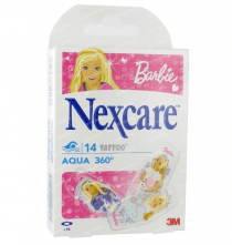 3m nexcare pleisters barbie